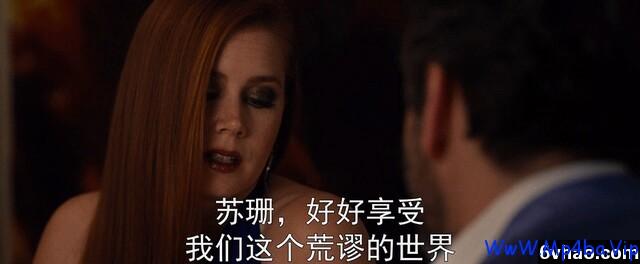 2016高分惊悚剧情《夜行动物》DVDscr中英双字
