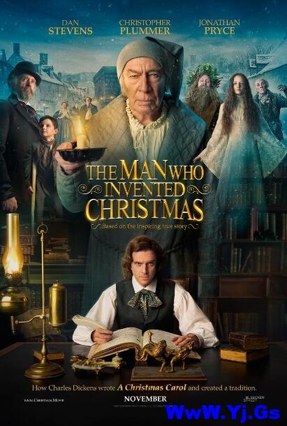 [中英双字]圣诞发明家.The.Man.Who.Invented.Christmas.2017.1080p.BluRay.x264.CHS.ENG-3.17GB