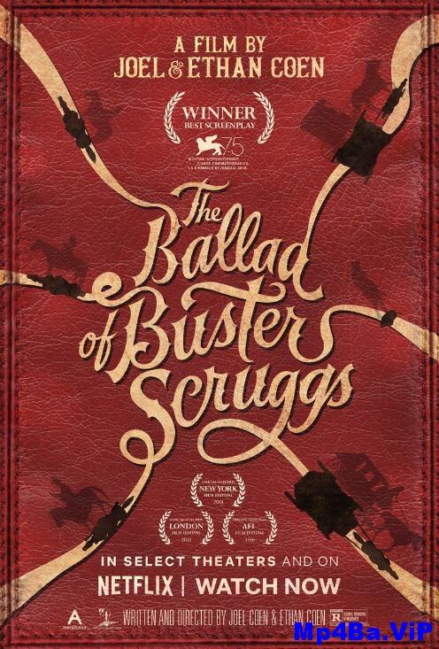 [简体字幕]巴斯特.斯克鲁格斯的歌谣.The.Ballad.of.Buster.Scruggs.2018.1080p.WEBRip.x264.CHS-3.2GB