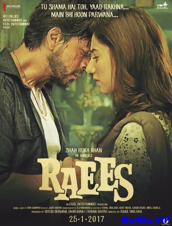 [简体字幕]枭雄.Raees.2017.Hindi.1080p.BluRay.x264.CHS-4.34GB